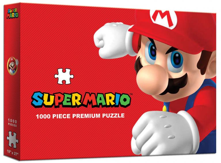 Super Mario Bros adapté... en puzzle prise de tête