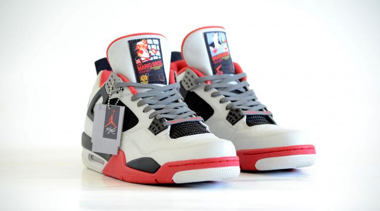 De magnifiques sneakers hommage à la NES