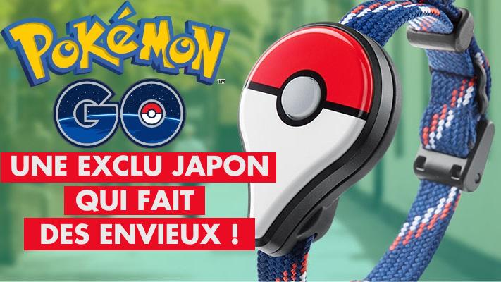 Pokémon GO : les dresseurs japonais peuvent désormais personnaliser leur Pokémon GO Plus, voici comment