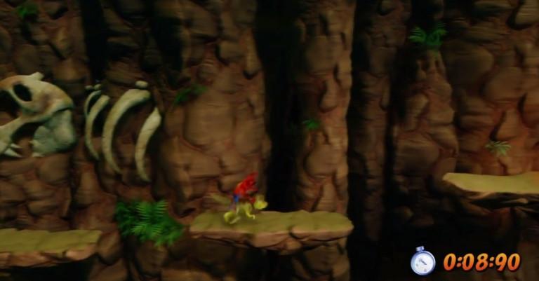 Niveau 30 : Eggipus Rex