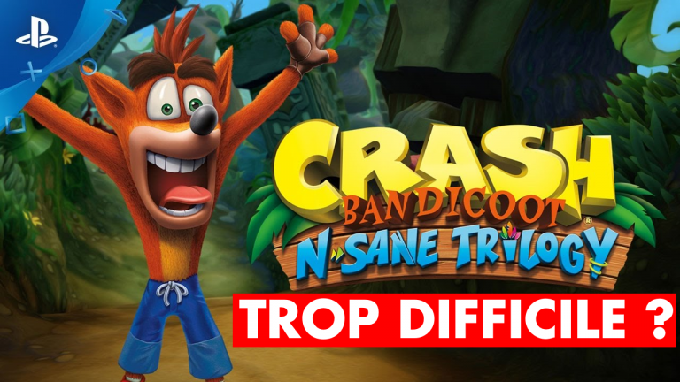 Crash Bandicoot N. Sane Trilogy trop difficile par rapport aux jeux originaux : explications et astuces des développeurs