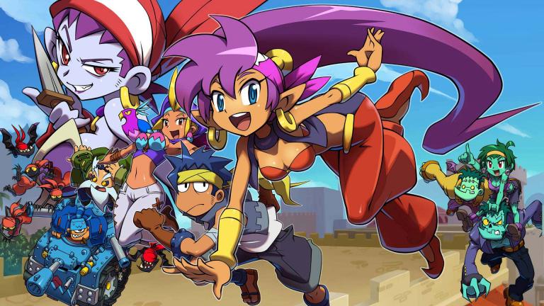 La série des Shantae aura droit à son artbook en 2018