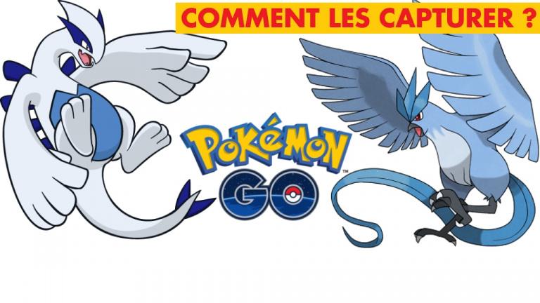 Pokémon GO : Lugia, Artikodin, comment les battre et les capturer ?