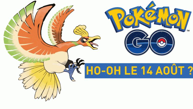 Pokémon GO : Ho-Oh, le prochain Légendaire, dispo à la mi-août ?