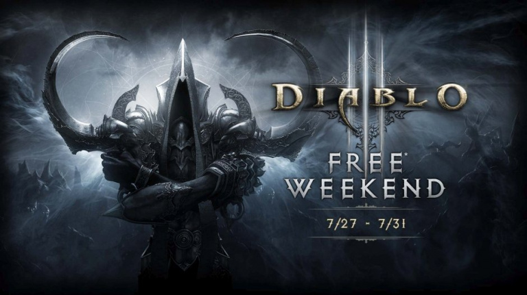 Diablo III est jouable gratuitement ce week-end pour les membres Xbox Live Gold