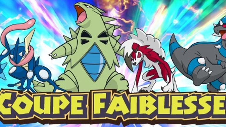 Pokémon Soleil/Lune : Les lots de participation à la Coupe Faiblesse disponibles