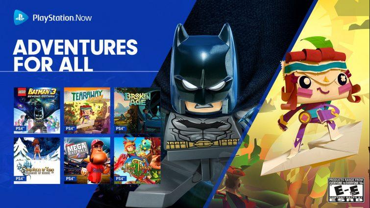 PlayStation Now : 19 jeux ajoutés au mois d'août