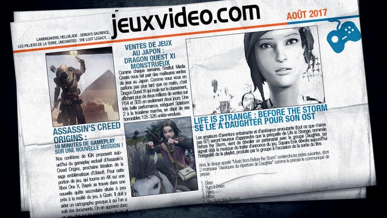 Les vidéos de la semaine : PES 2018, Destiny 2, Dishonored 2...