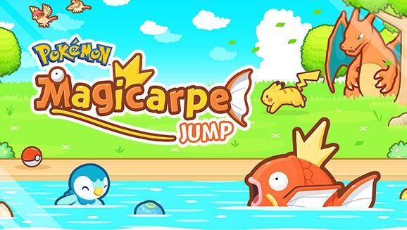 Pokémon : Magicarpe Jump passe en version 1.3