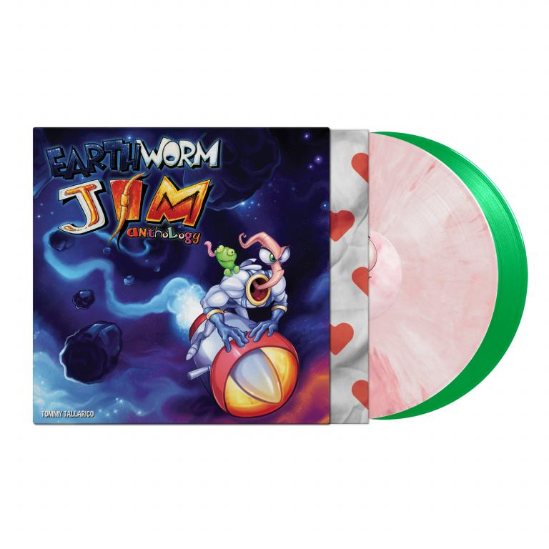 Earthworm Jim se paye un vinyle