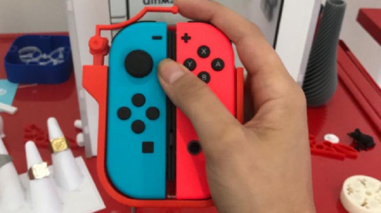 Nintendo Switch : Un ingénieur crée un système pour jouer à une seule main avec les Joy-Con