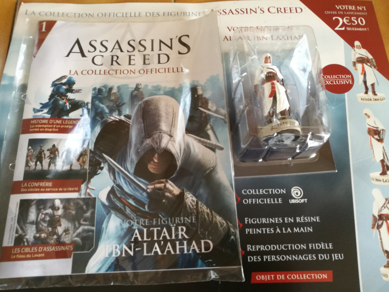 Assassin's Creed : Une collection de figurines chez Hachette