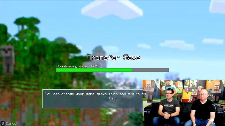 Minecraft : le transfert de sauvegardes Wii U / Switch sur les rails