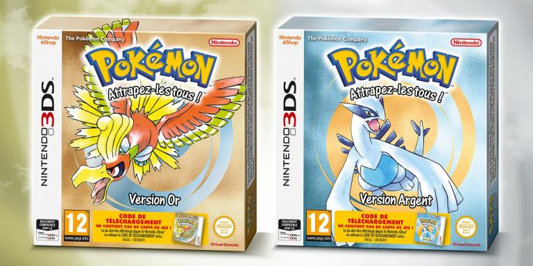 """Pokémon Or et Argent : une """"version physique"""" avec un code de téléchargement"""