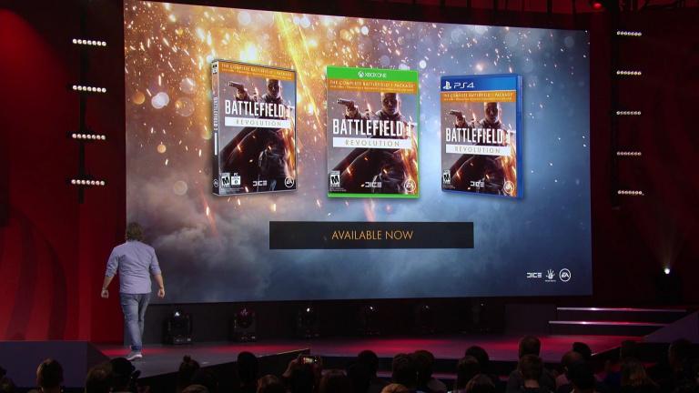 gamescom 2017 : Battlefield 1 Revolution annoncé