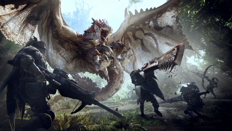 gamescom 2017 - Monster Hunter World parle de son monde ouvert