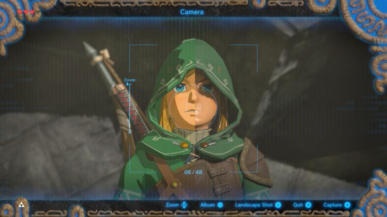 Link n'a pas vraiment la même tête sans effets spéciaux...