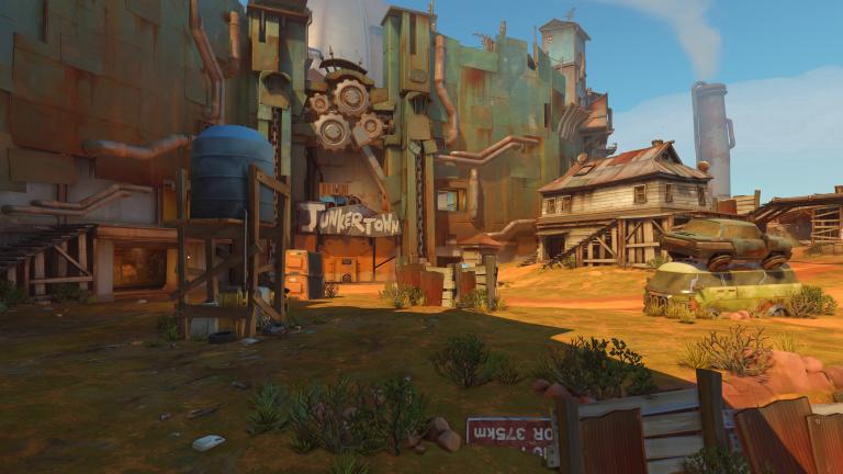 Overwatch : la map Junkertown est disponible dans le PTR sur PC