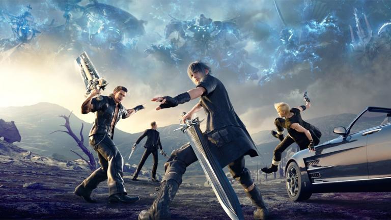 Final Fantasy Xv Un Livre D Illustrations Prevu Pour