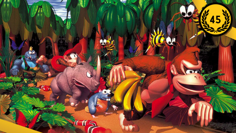 45ème : Donkey Kong Country / 1994