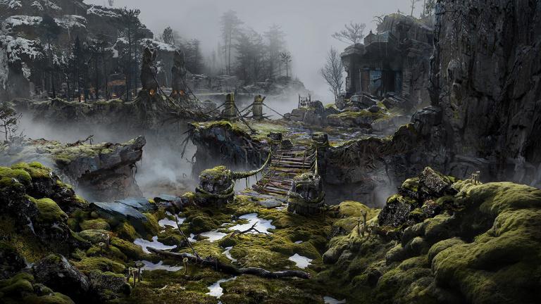God of War nous livre une seconde fournée d'illustrations