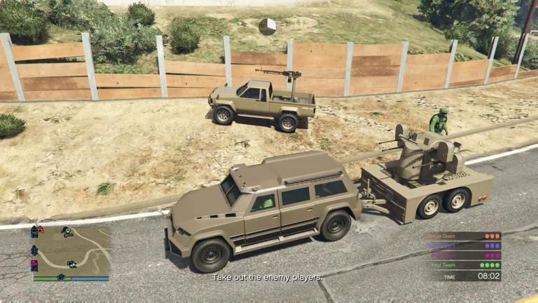 GTA 5 Online, Motor Wars : notre guide pour bien débuter dans le Battle Royale by Rockstar