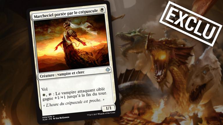 Exclu : Nouvelle carte Magic The Gathering - Marcheciel Portée par le Crépuscule