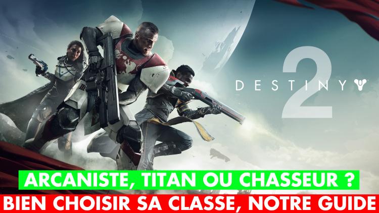 Destiny 2 titan chasseur ou arcaniste quelle classe - Quelle console choisir ps4 ou xbox one ...
