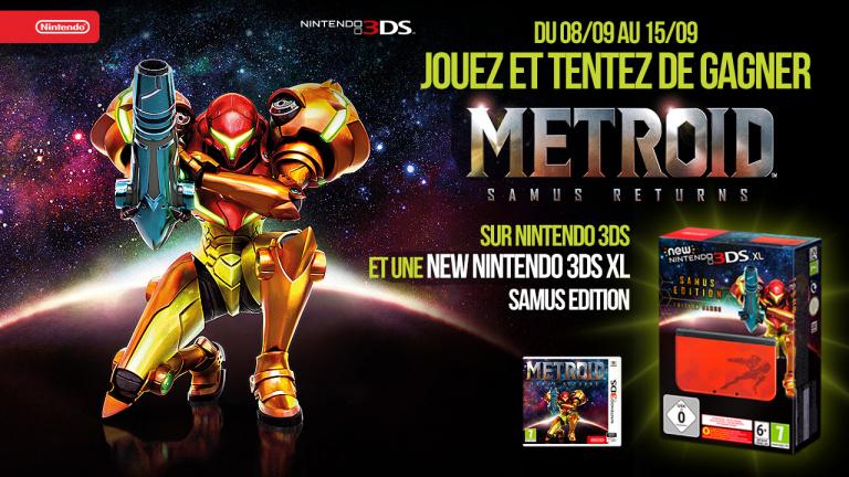 Concours Metroid: Samus Returns - Gagnez une Nintendo 3DS Collector et des jeux