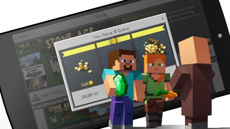 Minecraft : 1 million de dollars grâce au MarketPlace