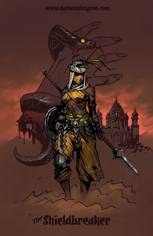 Darkest Dungeon : Le Shieldbreaker arrive bientôt