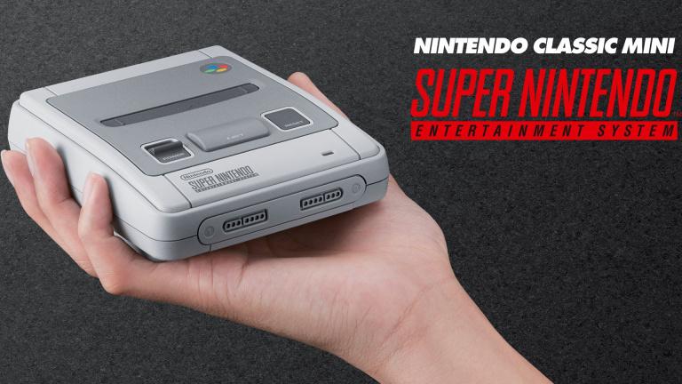 Des milliers de consoles supplémentaires — SNES Mini