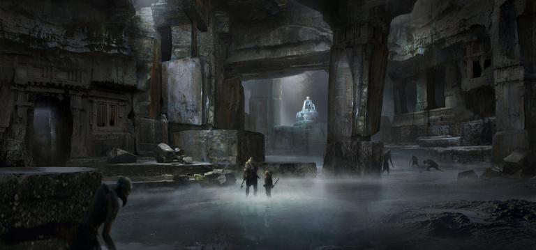 God of War dévoile ses décors avec une troisième série d'artworks