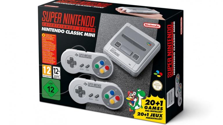 SNES Mini : Nintendo en livrera davantage day-one que de NES Mini au total l'année passée