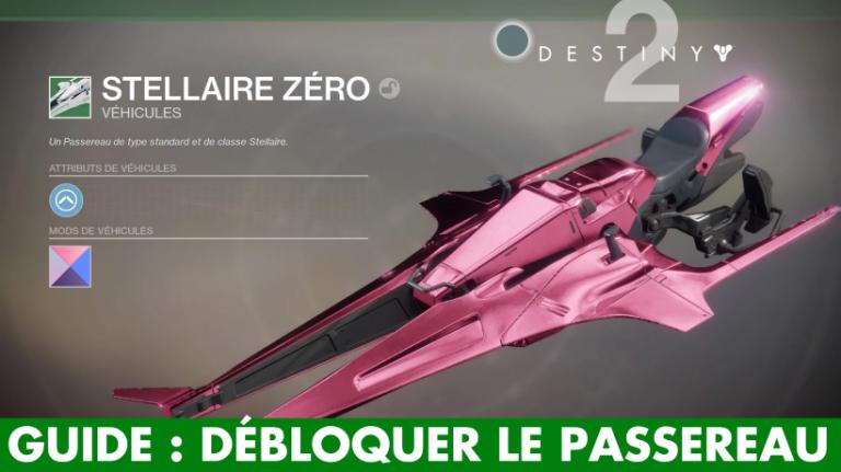 Destiny 2, Passereau : où, quand et comment obtenir le véhicule des Gardiens ?