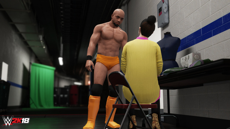 WWE 2K18 : 2K Sports détaille les améliorations du mode carrière