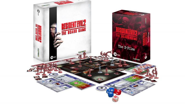 Resident Evil 2 : La campagne kickstarter du jeu de plateau débute à la fin du mois