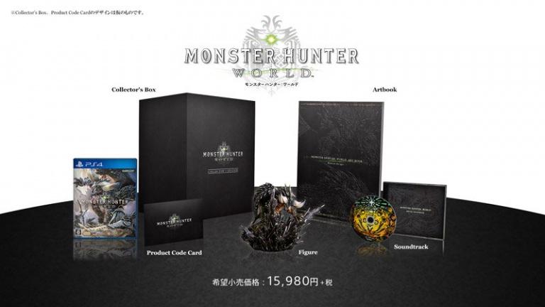 TGS 2017 : Monster Hunter World - Une date de sortie et une collector