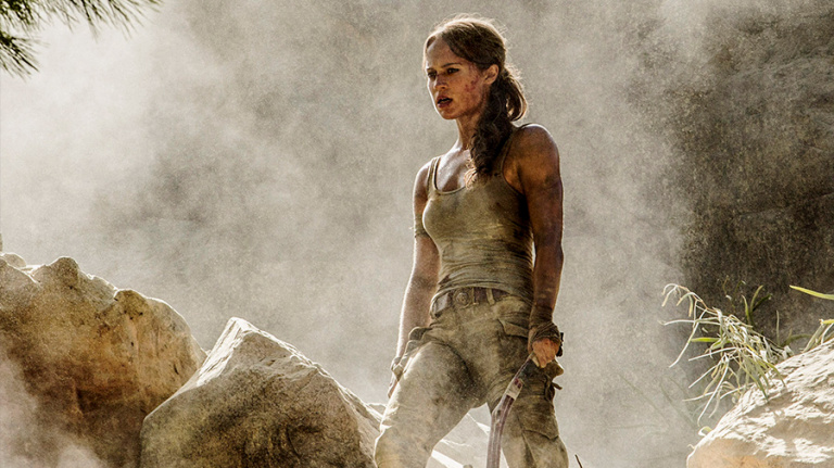 Le nouveau film Tomb Raider nous dévoile une première affiche