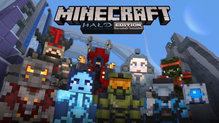Minecraft Switch Edition : Le pack de texture Halo en approche
