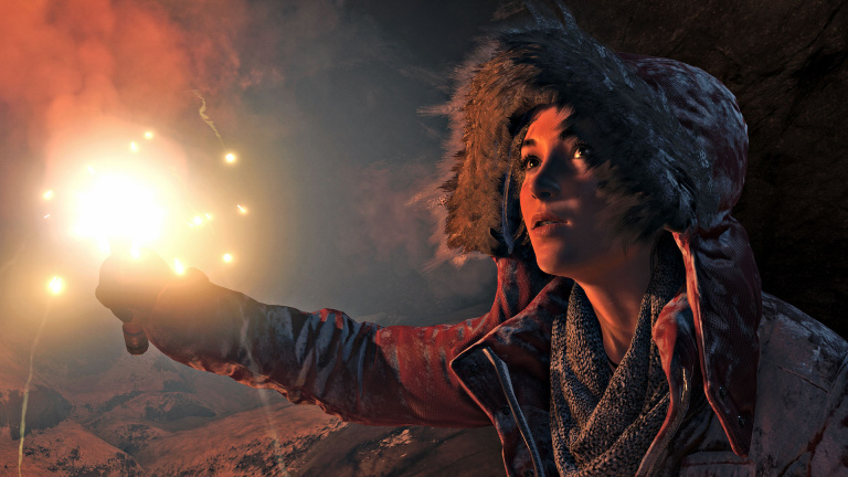 Rise of the Tomb Raider : l'édition Xbox One X en action, en 4K et en HDR