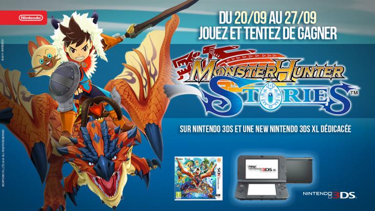 Concours Monster Hunter Stories : Gagnez des jeux et une console collector