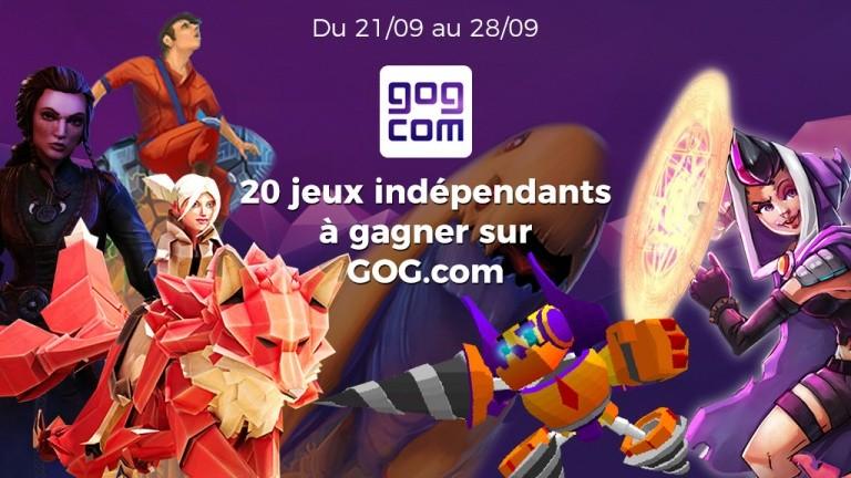 Concours GOG.com : gagnez 20 jeux PC, Mac et Linux indépendants