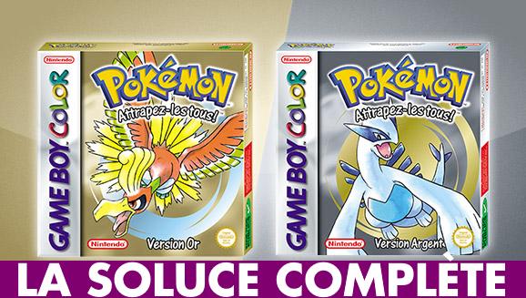 Pokémon Or / Argent : la soluce complète