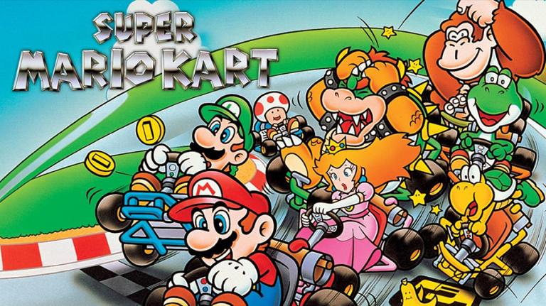 Nintendo révèle comment F-Zero a mené à la création de Super Mario Kart