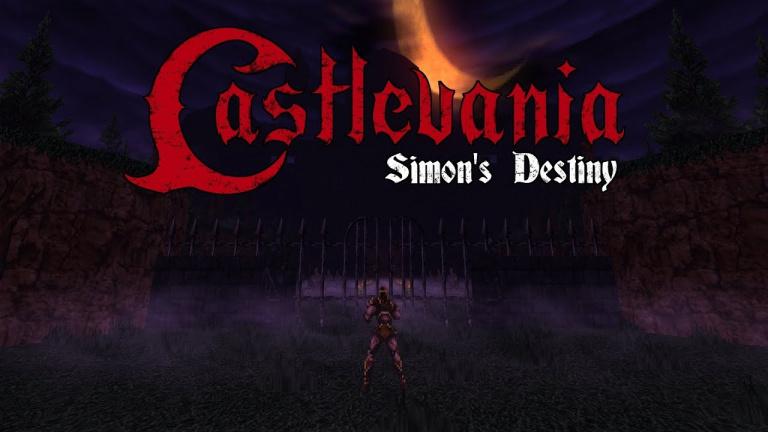 """Doom et Castlevania se rencontrent avec le mod """"Simon's Destiny"""""""