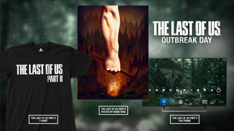 The Last of Us Part II : un thème PS4, un T-shirt et un poster pour patienter