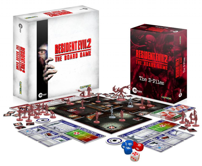 Le jeu de plateau Resident Evil 2 financé en une heure sur Kickstarter