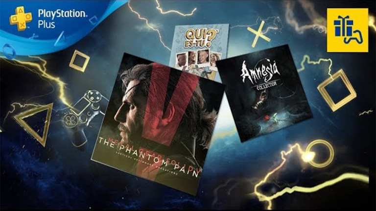 PlayStation Plus : Metal Gear Solid V gratuit au mois d'octobre