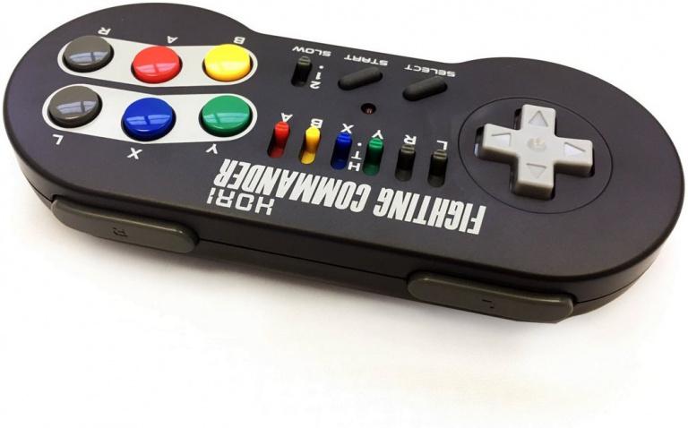 SNES Classic Mini: Une manette HORI pour les jeux de combat